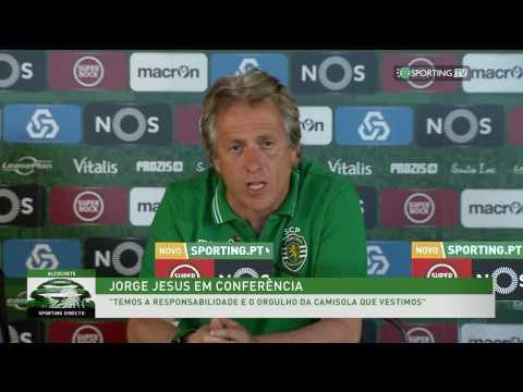 Conferência de imprensa - V. Setúbal X Sporting CP 13 de abril de 2017