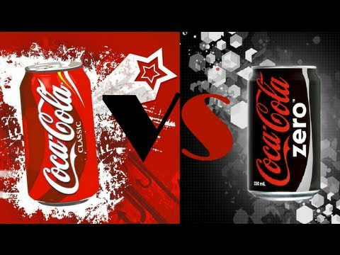 ¿Puedes distinguir la coca cola normal de la zero? -- Think Twice