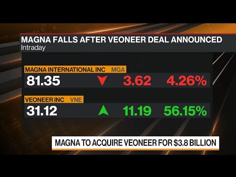 Magna Buying Veoneer for $3.8 Billion