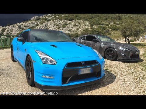 Nissan GT-R Fast POV Drive on Winding Roads! - Route Napoleon