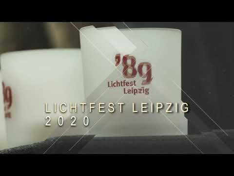 Lichtfest Leipzig 2020 - Zu Hause bleiben und doch dabei sein