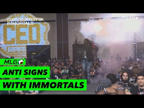 Super Smash Bros. Player ANTi joins Immortals!