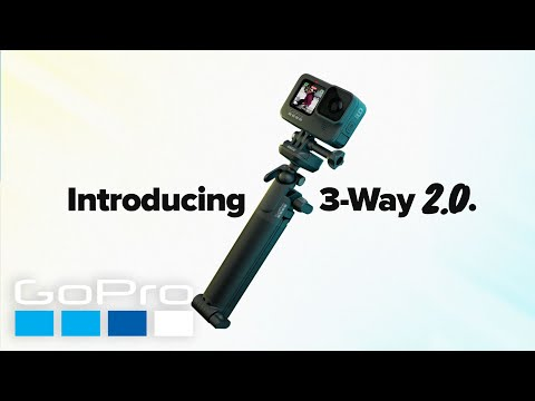 GoPro: Introducing 3-Way 2.0   The Ultimate 3-in-1 Mount