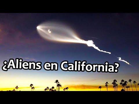 ¿Aliens en el lanzamiento de SpaceX?   Noticias 25/12/2017