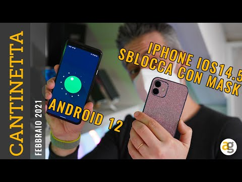 iPhone sblocca con Mascherina e Android  …