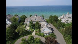 Elegant Lakefront Home in Bay Harbor, Michigan | Sotheby's International Realty
