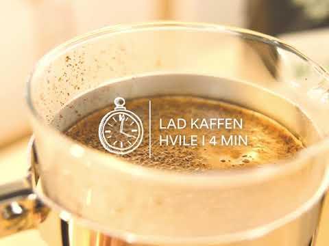 Sådan laver du den bedste kaffe på stempelkande!