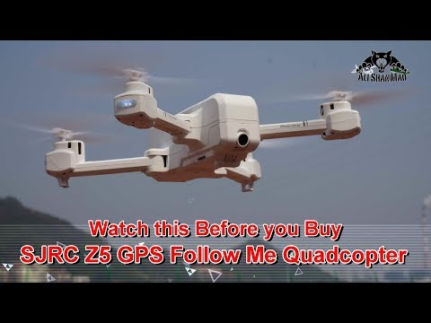 SJRC Z5 Mini Folding 5G WiFi FPV HD Camera GPS Follow me Drone - UCsFctXdFnbeoKpLefdEloEQ