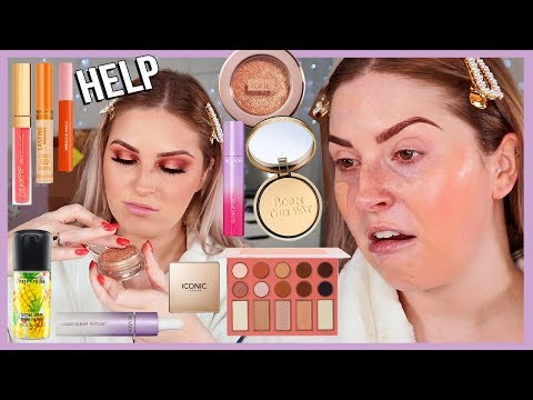 FULL FACE of FIRST IMPRESSIONS ? lots of NEW drugstore makeup yasss beeetch