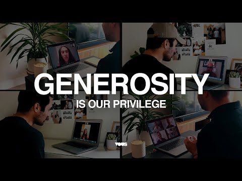 COVID Response - Generosity Is Our Privilege