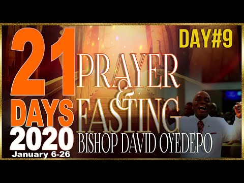 Bishop Oyedepo  21 Days 2020[Day9]