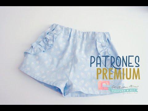 Shorts para niñas (talla 6 meses a 5 años)