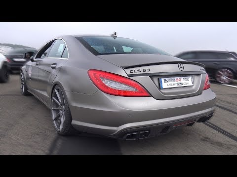 650HP Mercedes-Benz CLS63 AMG – REVS & GREAT ACCELERATIONS!