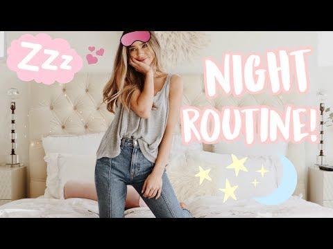 MY NIGHT ROUTINE 2018!