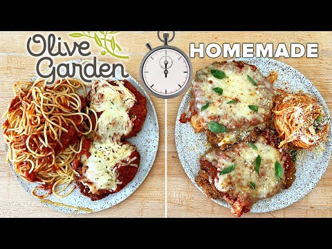 "Can This Pro Chef Make Chicken Parm Faster Than Delivery From Olive Garden"" ? Tasty"
