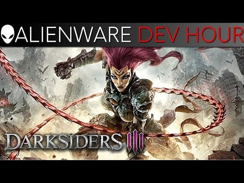 Darksiders 3 Dev Gameplay / Q&A - Alienware Area-51 Gaming PC (1080 Ti)