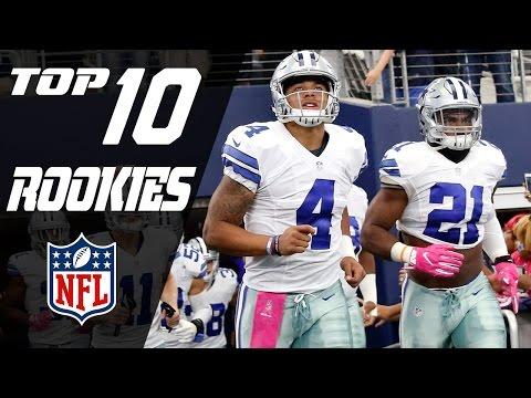 Top 10 Rookies of 2016! | NFL NOW