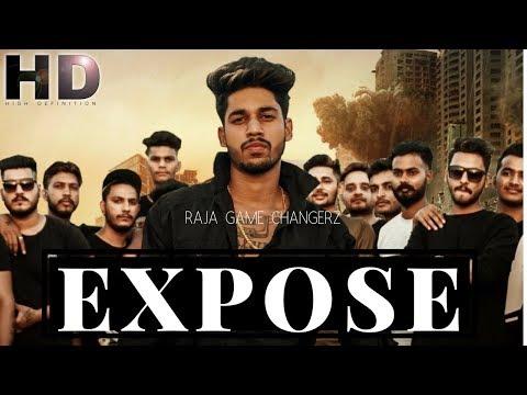 EXPOSE LYRICS - Raja (Game Changerz)