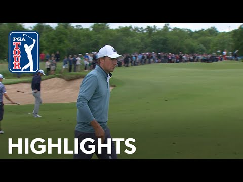 Jordan Spieth's Round 3 highlights from AT&T Byron Nelson 2019