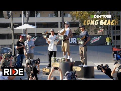 Ryan Sheckler Wins Dew Tour Long Beach