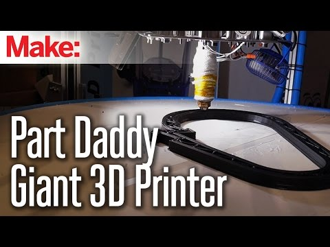 Massive 3D Printer at Maker Faire New York - UChtY6O8Ahw2cz05PS2GhUbg