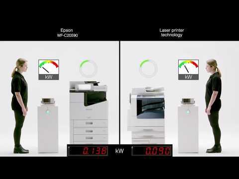 WorkForce Enterprise WF-C20590: Power consumption test
