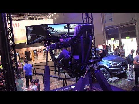 Ford's 4D Simulator at Gamescom 2018