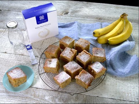 spiced banana & yoghurt loaf with YoGo MultiVitality Natural
