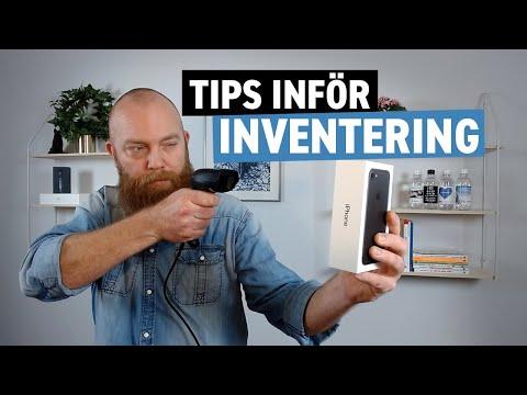 Tips inför inventering i Specter affärssystem
