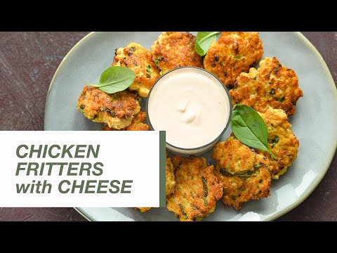 Chicken Fritters with Cheese | Food Channel L Recipes