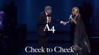 Cheek to Cheek Live Best Notes Collection