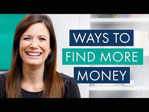 3 Easy Ways to Find More Money