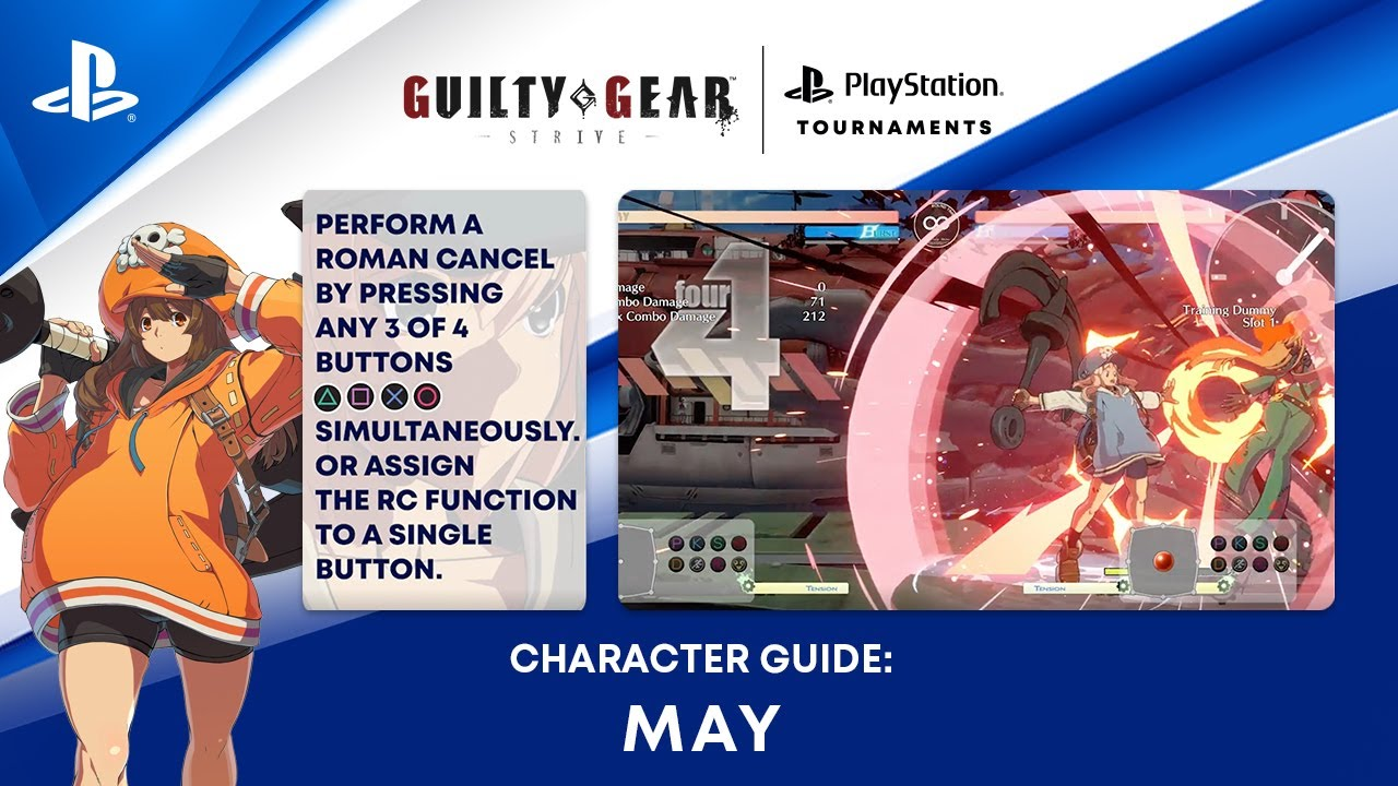 Guilty Gear -Strive- Beginner's Guide – How to Play May   PS CC