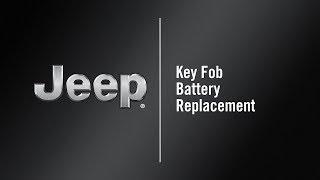 Cambiare batteria chiave Nuova Jeep COMPASS TJ
