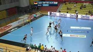 Top 10 Plays of the quarter-finals   IHFtv - North Macedonia 2019