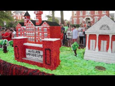 Auburn celebrates the 2016 Homecoming Parade