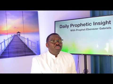 Prophetic Insight April 15, 2021