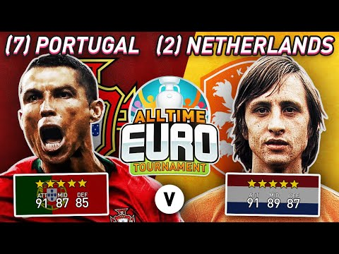 Netherlands All-Time XI vs Portugal All-Time XI | FIFA 20 All-Time EURO Experiment!