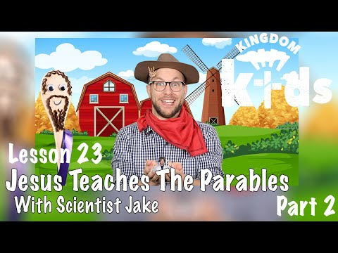 Jesus Teaches The Parables: The Mustard Seed   Sojourn Kingdom Kid's  Sunday Morning Lesson