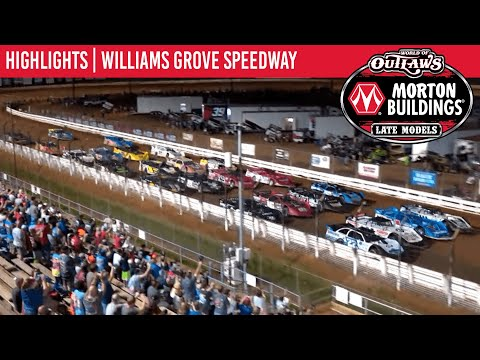 World of Outlaws Morton Building Late Models at Williams Grove Speedway August 20, 2021 | HIGHLIGHTS - dirt track racing video image