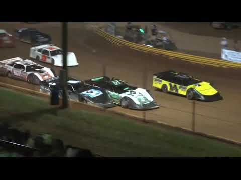 602 Thunder series at Lavonia Speedway July 2nd 2021 - dirt track racing video image
