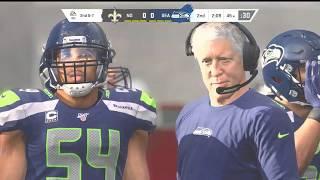 (Madden NFL 20) Version 1.10 (New Orleans Saints vs Seattle Seahawks) Week 3