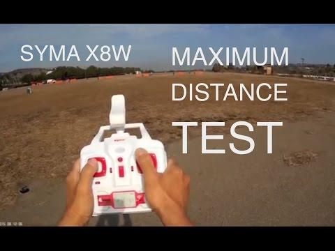 SYMA X8W MAXIMUM DISTANCE TEST ( BANGGOOD ) - UC9l2p3EeqAQxO0e-NaZPCpA