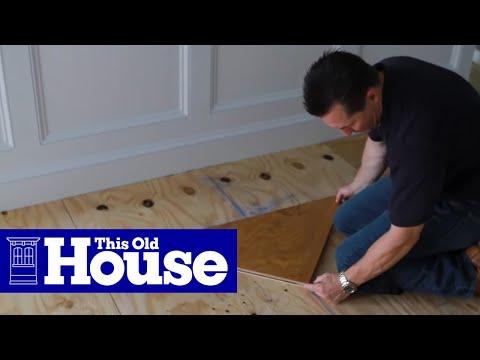 How to Install a Herringbone Floor | This Old House - UCUtWNBWbFL9We-cdXkiAuJA