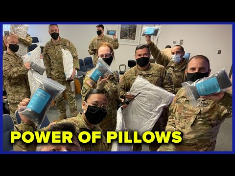 How A Pillow Company Stepped Up for the National Guard After the Insurrection