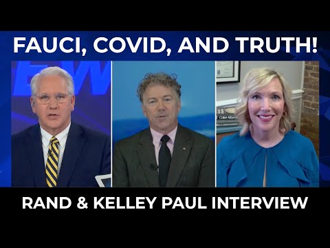 Victory News: Fauci, Covid, and Truth  Rand & Kelly Paul Interview