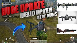 PUBG MOBILE New Mode Helicopter, Grenade Launcher Gameplay & Much More Chinese BETA