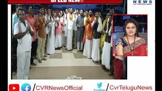 Basara Temple Priests Organize Padayatra From Basara to Sangapur | CVR News
