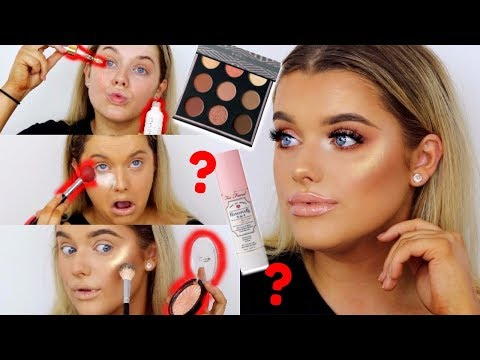 FULL FACE OF NEW MAKE UP/FIRST IMPRESSIONS! | Rachel Leary - UC-Um2u0Agv8Q-OhjO6FZk1g