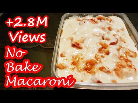 NO BAKE MACARONI WITH WHITE SAUCE!!! - UC08AFOLZoUQr1UMjT4O98WQ